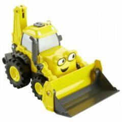 Gele Fisher-Price Bob de Bouwer voertuig Graaf & Rij Scoop