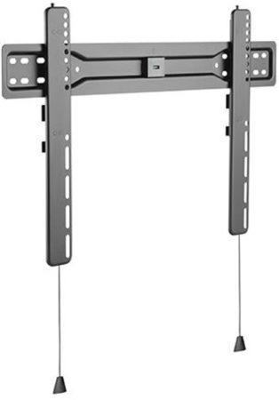Afbeelding van Zwarte Cavus WMF204 Premium TV Muurbeugel 18mm Ultra Slim - Ophangbeugel geschikt voor Televisie v.a. 37 Inch tot 35kg