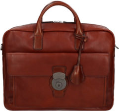 The Bridge Capalbio Briefcase brown