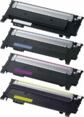 Cyane Inktdag huismerk toner cartridge alternatief voor Samsung CLT-P404C (Samsung CLT-K404S, CLT-C404S, CLT-M404S, CLT-Y404S), Multipack van CMYK 4 kleuren
