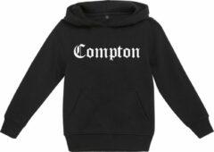 Zwarte Mister Tee Jongens Hoodie Compton Streetwear