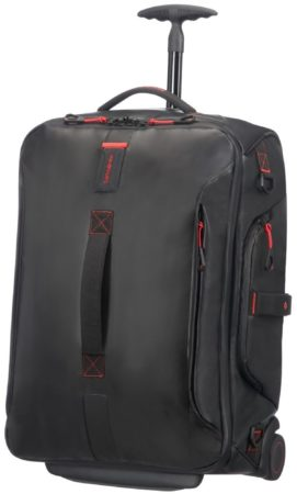Afbeelding van Zwarte Samsonite Paradiver Light Duffle Wheels Backpack 55 black Reistas