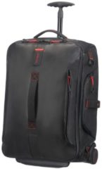 Zwarte Samsonite Paradiver Light Duffle Wheels Backpack 55 black Reistas