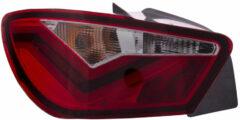 Rode Universeel Set LED Achterlichten Seat Ibiza 6J SC 3-deurs 2008- - Rood/Smoke