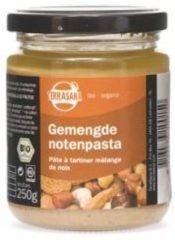 Terrasana Gemengde notenpasta zonder zout 250 Gram