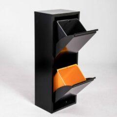 Brender Afvalbak met twee binnenemmers / zwart