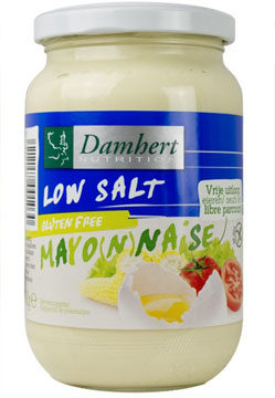 Afbeelding van Damhert Mayonaise Natriumarm Glutenvrij (300g)