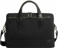 Zwarte Tumi Harrison Sycamore Slim Brief black