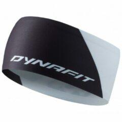 Grijze Dynafit - Performance Dry Headband - Hoofdband maat One Size zwart/grijs