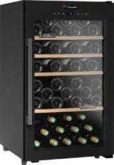 Zwarte Climadiff CS63B1- Wijnklimaatkast - 63 flessen