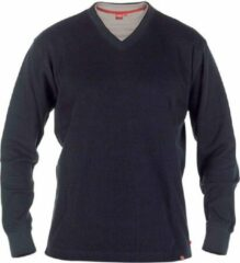 Marineblauwe D555 Bliss Heren Lange mouwen Sweater 100% cotton – Navy – Maat L