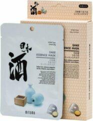 Witte Mitomo Japan Mitomo™ Sake Gezichtsmasker - Anti Aging Face Mask - Gezichtsverzorging Masker
