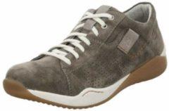 Grijze Josef Seibel RICARDO 07 - Volwassenen Lage sneakersVrije tijdsschoenen - Kleur: Taupe - Maat: 44