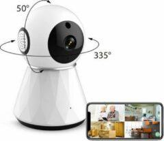 Witte IMAQ IQ 1080 IMAQ IQ- 1020 WIFI Camera   Babyfoon met camera en app - Baby born   1080P Full HD IP camera beveiliging   APP IOS Android   Beveiligingscamera binnen