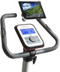 Grijze Flow fitness Draaibare Tablet Houder voor iPad en Galaxy