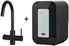 Kokendwaterkraan HotSpot Calisto Mat Zwart Inclusief 4 Liter Boiler