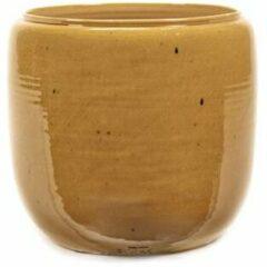 Serax Bloempot Honey-Geel D 25 cm H 26 cm