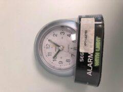 Segnale - alarm klok - zilver