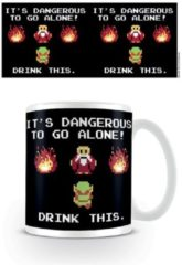 Witte Nintendo The Legend Of Zelda Drink This - Mok