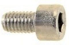 Zilveren Bofix Amigo Inbusbout M6 x 25 mm RVS Stuks (214210)
