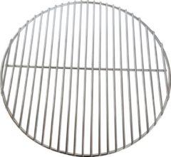 Roestvrijstalen Jx BBQ Rooster van roestvrij staal (316 Grade) met doorsnede van 46,5 CM voor Kamado en Kogel BBQ's