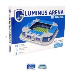 Nanostad 3d-puzzel Luminus Arena Karton Blauw 114 Stukjes