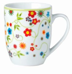 6er-Set Kaffeebecher 'Vario Flower' Van Well Mehrfarbig