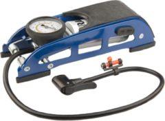 Mirage Voetpomp Met Manometer 7 Bar/100 Psi Staal Blauw
