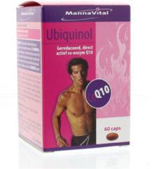 Mannavital Ubiquinol co-enzyme Q10 60 Capsules