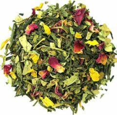 De wereld van thee Groene thee sencha sweet roses