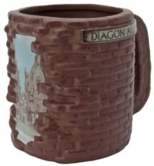 Bruine ABYSTYLE HARRY POTTER - Mug 3D - Diagon Alley x2