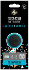 Axe Luchtverfrisser Mini Vent - Leather + Cookies 3 Cm Zwart/blauw