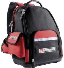 Rode Facom Werkzeug-Rucksack Laptoprugzak Geschikt voor maximaal (inch): 38,1 cm (15) Zwart, Rood