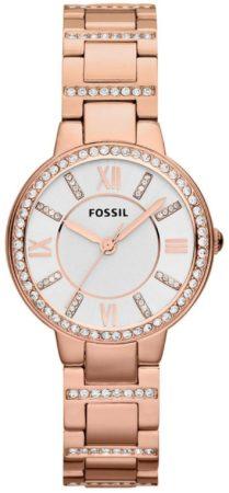 Afbeelding van Goudkleurige Fossil Virginia Dames Horloge ES3284
