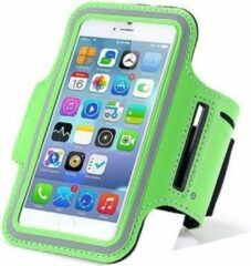 Qatrixx Sports armband case Groen groen voor Apple iPhone 7