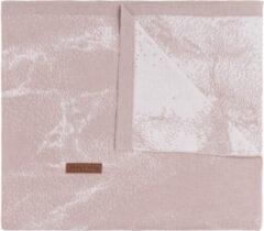 Baby's Only Marble Wiegdeken Oudroze / Classic Roze 70 x 95 cm