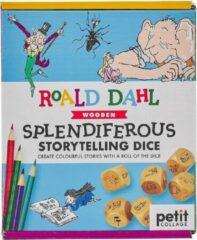 Petit Collage Splendiferous Storytelling Dice Junior Papier