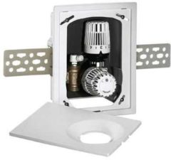 Heimeier multibox K-RTL ruimtetemperatuurregeling met waterbegrenzing