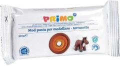 Oranje Primo boetseerklei 500 gram junior terracotta