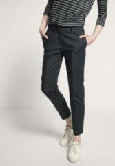 Hessnatur Damen Hose aus Bio-Baumwolle – grün – Größe 46