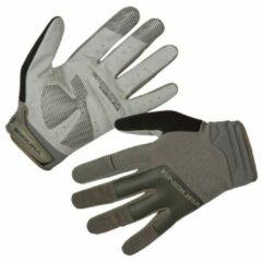 Endura - Hummvee Plus Handschuh II - Handschoenen maat M, grijs/olijfgroen