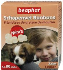 Beaphar Schapenvetbonbons Zalm - Hondensnacks - Mini