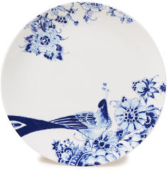 Blauwe ROYAL DELFT - Peacock Symphony - Dinerbord Coupe 26cm