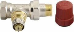 Danfoss thermostatische radiatorafsluiter m. voorinstelling recht verkort 1/2 Kvs=0,90 m3/h - RA-N15