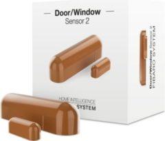 Fibaro Tür- und Fensterkontakt 2 Hellbraun - Z-Wave Plus