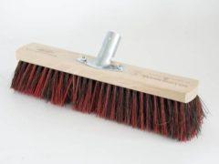 Nespoli Professionele werfbezem van Arenga mix/elastonmengsel, 60 cm