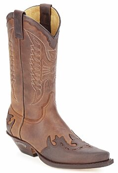 Afbeelding van Bruine Laarzen Sendra boots DAVIS