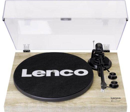 Afbeelding van Lenco LBT-188 Donker - Platenspeler met Bluetooth en USB aansluiting - vinyl naar digitaal
