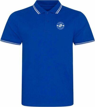 Afbeelding van Blauwe FitProWear Casual Heren Poloshirt Maat S