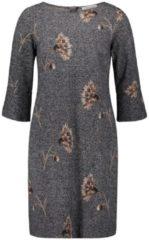 Jerseykleid mit Blumenprint Betty Barclay Dunkelblau/Weiß - Blau